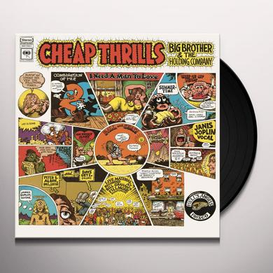 Big Brother & The Holding Company CHEAP THRILLS Vinyl Record