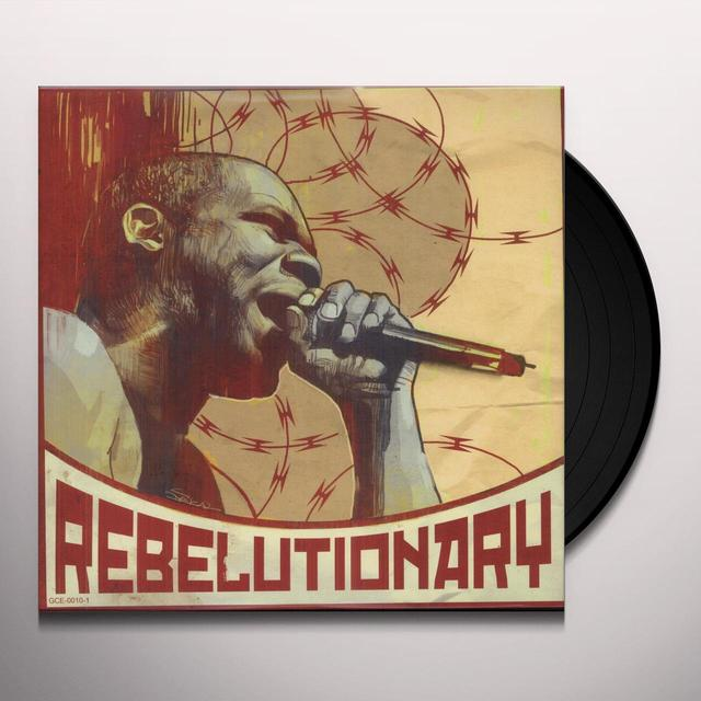 Reks REBELUTIONARY Vinyl Record