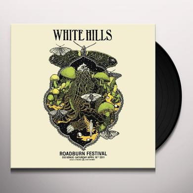 White Hills LIVE AT ROADBURN 2011 Vinyl Record