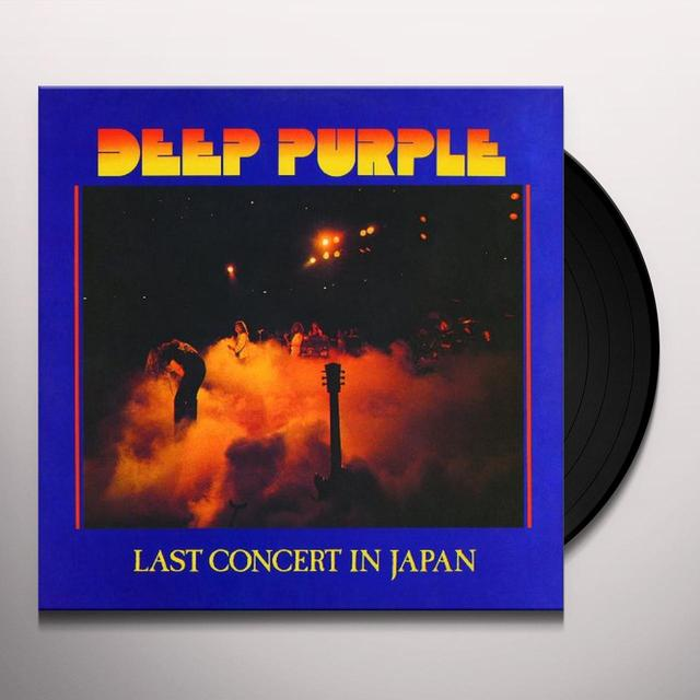 Deep Purple LAST CONCERT IN JAPAN Vinyl Record