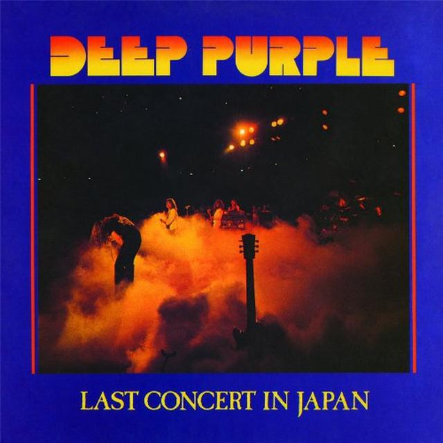 Deep Purple LAST CONCERT IN JAPAN Vinyl Record - Limited Edition, 180 Gram Pressing
