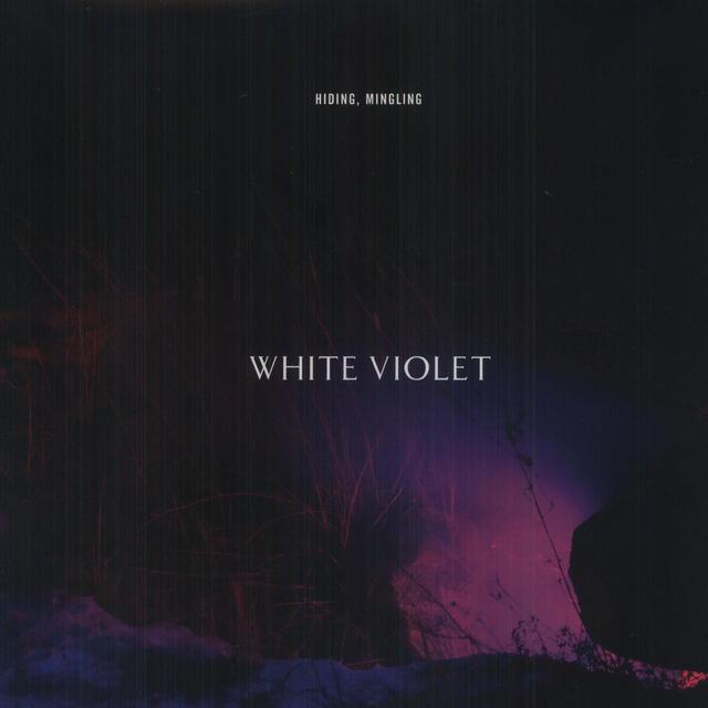 White Violet HIDING MINGLING Vinyl Record