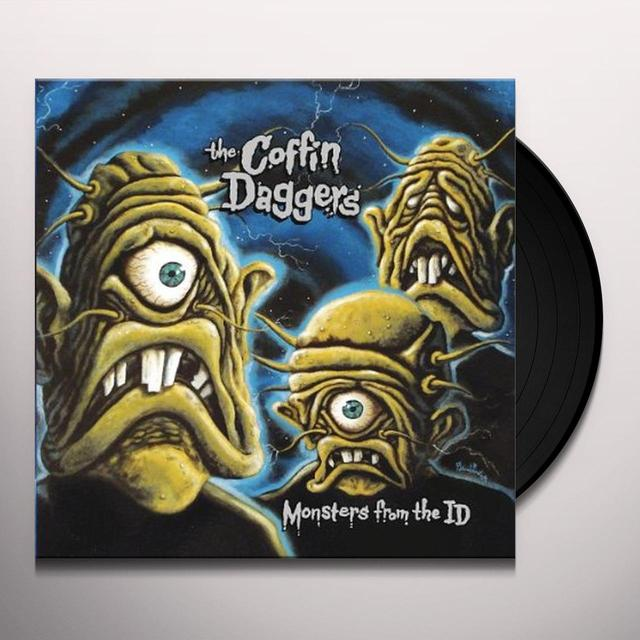 Coffin Daggers MONSTERS FROM THE ID Vinyl Record