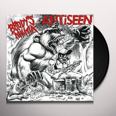Antiseen / Brody'S Militia PRIMAL ROAR SPLIT Vinyl Record