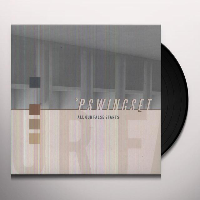 Pswingset ALL OUT FALSE STARTS Vinyl Record