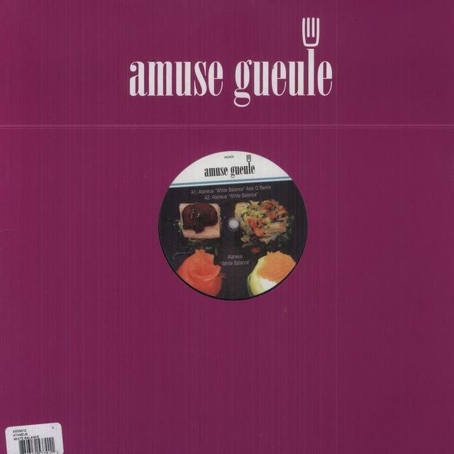Ataneus WHITE BALANCE (EP) Vinyl Record