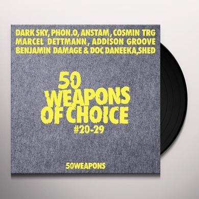50 WEAPONS OF CHOICE 20-29 / VARIOUS Vinyl Record
