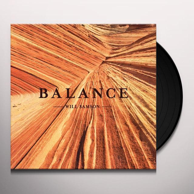 Will Samson BALANCE Vinyl Record