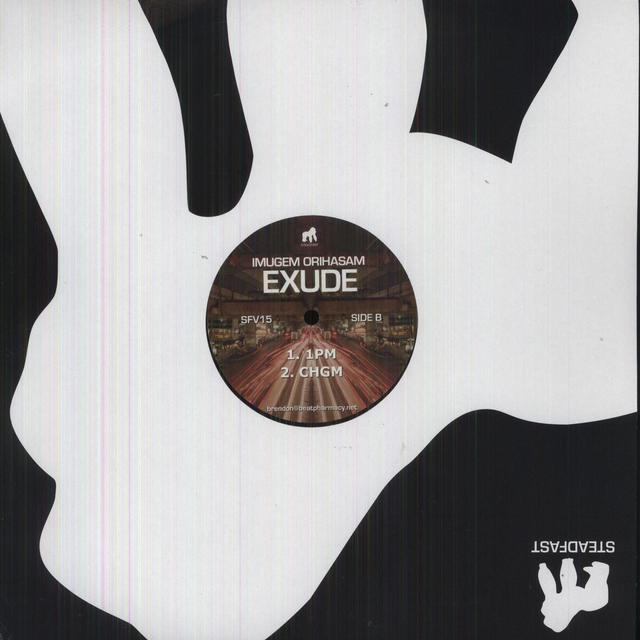 Imugem Orihasam EXUDE (EP) Vinyl Record