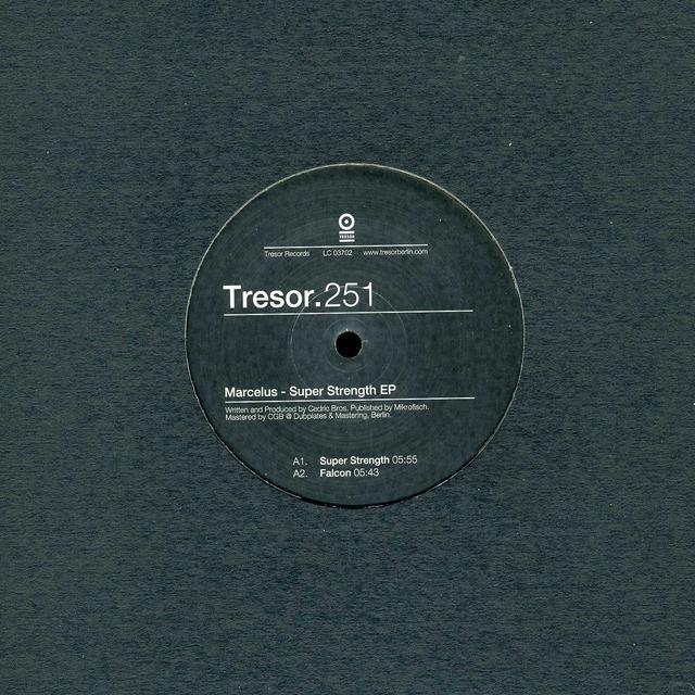 Marcelus SUPER STRENGTH (EP) Vinyl Record