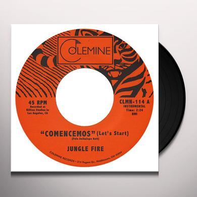 Jungle Fire COMENCEMOS Vinyl Record