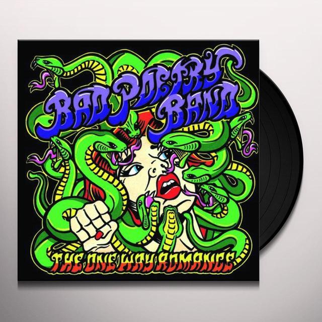 Bad Poetry Band ONE WAY ROMANCE Vinyl Record