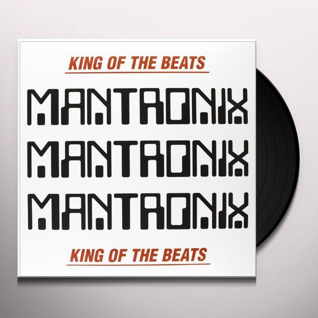 Mantronix KING OF THE BEATS: ANTHOLOGY 1985-1988 Vinyl Record