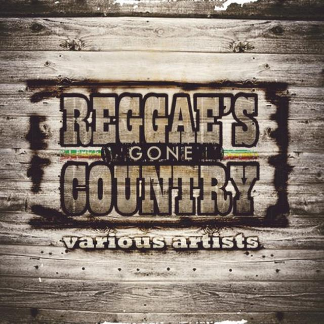 REGGAE GONE COUNTRY / VARIOUS Vinyl Record