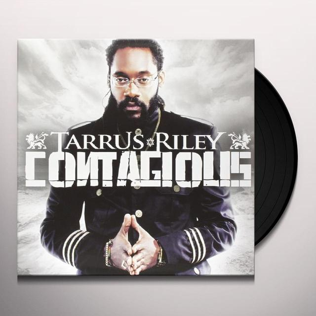 Tarrus Riley CONTAGIOUS Vinyl Record