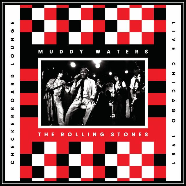 Muddy Waters & The Rolling Stones LIVE AT THE CHECKERBOARD LOUNGE CHICAGO 1981 Vinyl Record