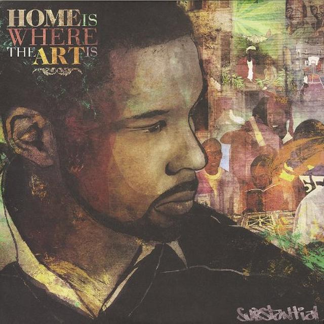 Substantial HOME IS WHERE THE ART IS Vinyl Record