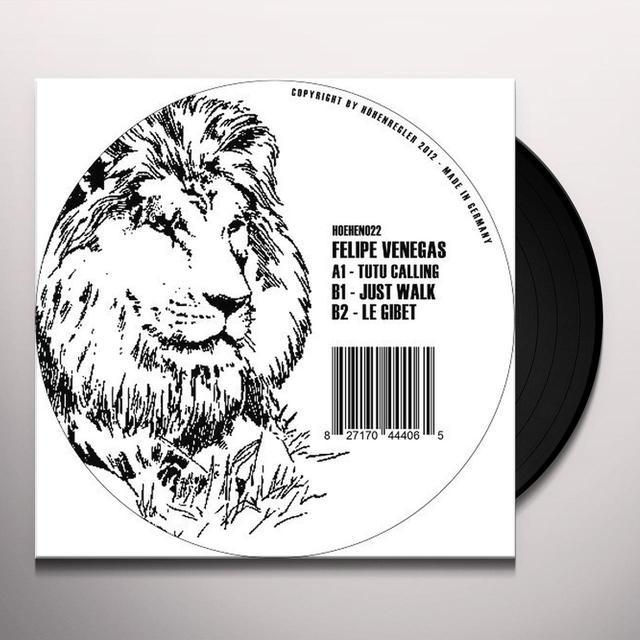 Felipe Venegas TUTU CALLING Vinyl Record