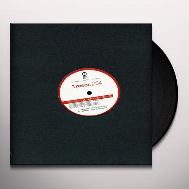 Puresque LEITMOTIV - THE REMIXES (EP) Vinyl Record