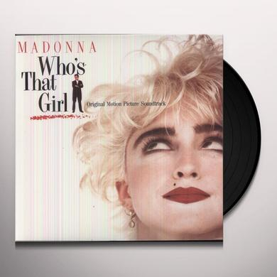 Madonna WHO'S THAT GIRL Vinyl Record