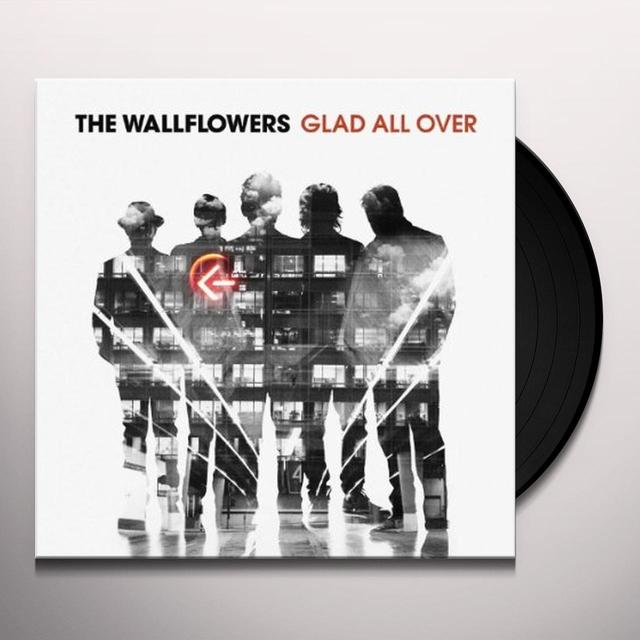 Wallflowers GLAD ALL OVER Vinyl Record - w/CD, 180 Gram Pressing