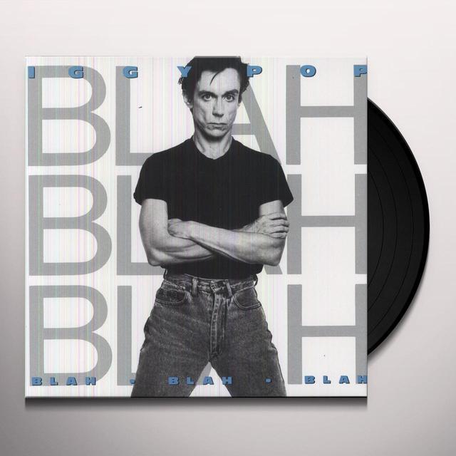 Iggy Pop BLAH BLAH BLAH Vinyl Record