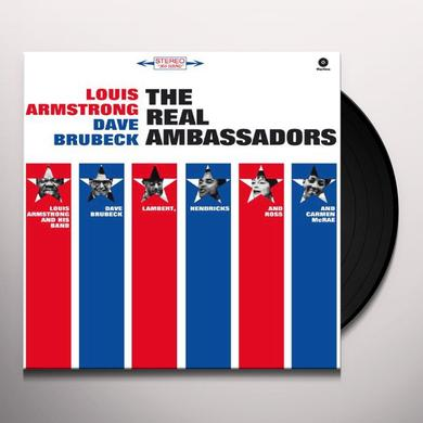 Louis Armstrong / Dave Brubeck REAL AMBASSADORS Vinyl Record