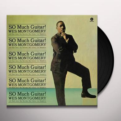 Wes Montgomery SO MUCH GUITAR Vinyl Record - 180 Gram Pressing