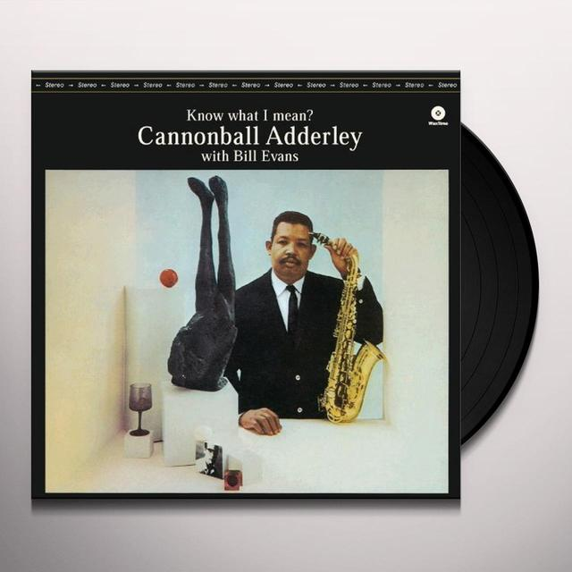 Cannonball Adderley KNOW WHAT I MEAN Vinyl Record
