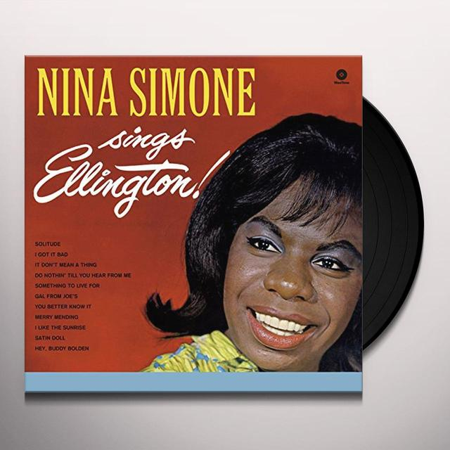 Nina Simone SINGS ELLINGTON Vinyl Record