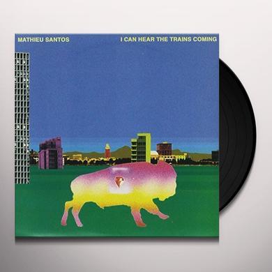 Mathieu Santos I CAN HEAR THE RAIN Vinyl Record