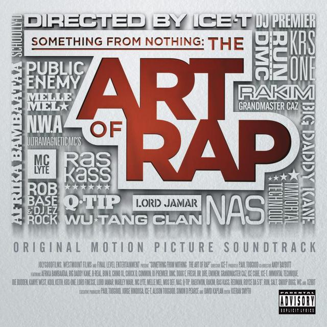 SOMETHING FROM NOTHING: THE ART OF RAP / VARIOUS Vinyl Record