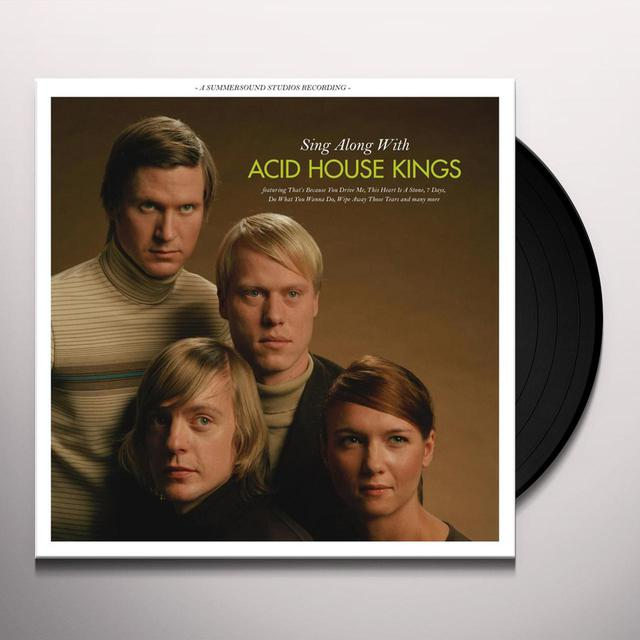 SING ALONG WITH ACID HOUSE KINGS Vinyl Record