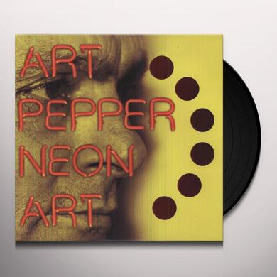 Art Pepper NEON ART 1 Vinyl Record