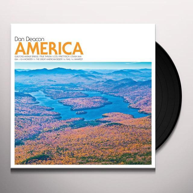 Dan Deacon AMERICA Vinyl Record