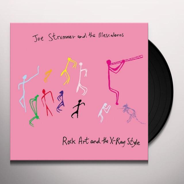 Joe / Mescaleros Strummer ROCK ART & THE X-RAY STYLE (BONUS CD) Vinyl Record - Remastered