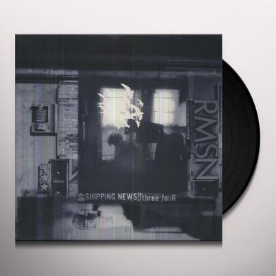 Shipping News THREE-FOUR Vinyl Record