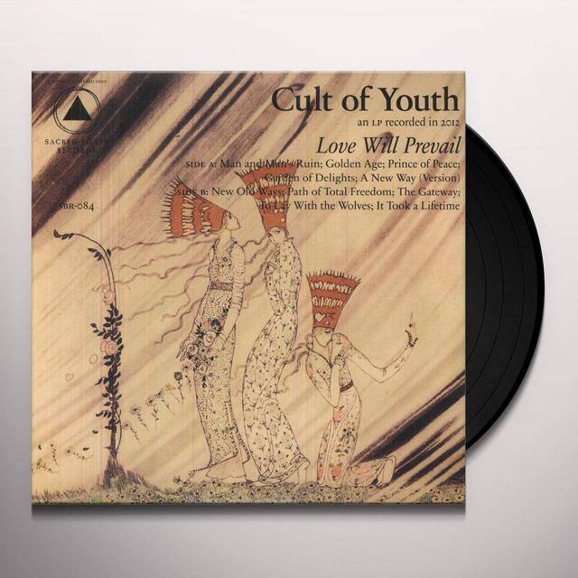 Cult Of Youth LOVE WILL PREVAIL Vinyl Record