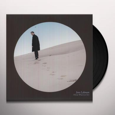 Jens Lekman I KNOW WHAT LOVE ISN'T Vinyl Record
