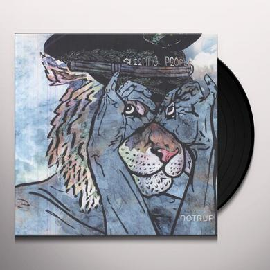 Sleeping People NOTRUF Vinyl Record - MP3 Download Included