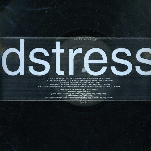 Storm & Stress UNDER THUNDER & FLUORESCENT LIGHTS (Vinyl)