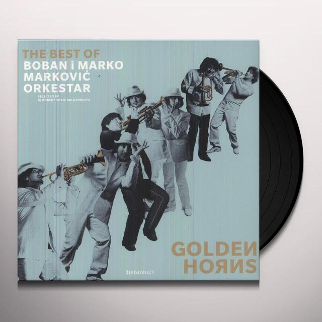 Boban Markovic & Marko GOLDEN HORNS - THE BEST OF Vinyl Record