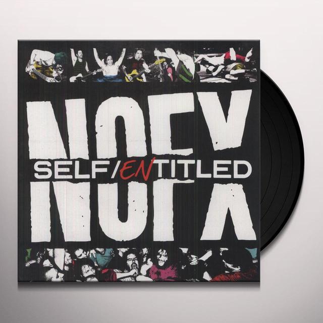 Nofx SELF ENTITLED Vinyl Record