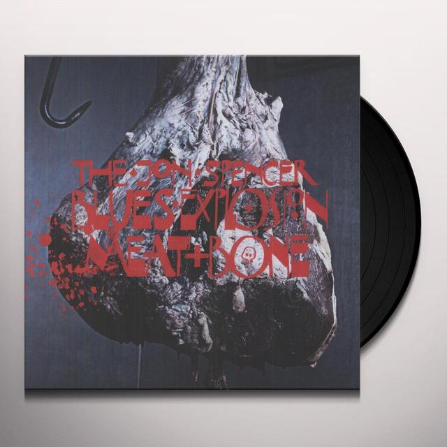 Jon Spencer MEAT & BONE Vinyl Record - Deluxe Edition, Digital Download Included