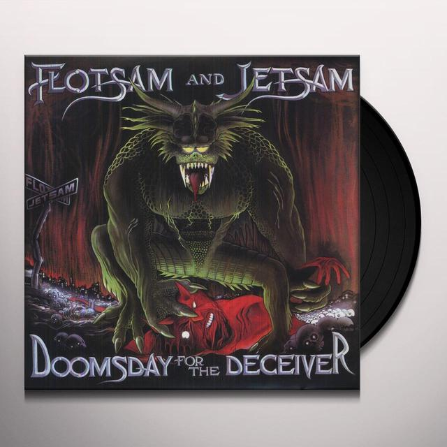 Flotsam & Jetsam DOOMSDAY FOR THE DECEIVER Vinyl Record