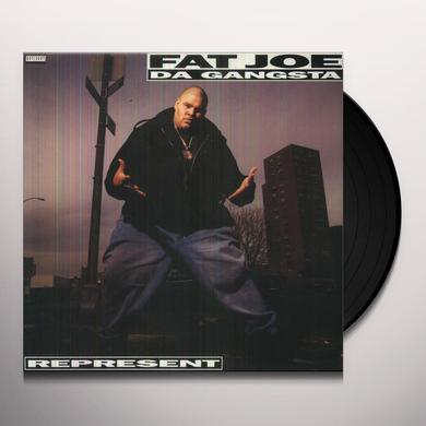 Fat Joe REPRESENT Vinyl Record