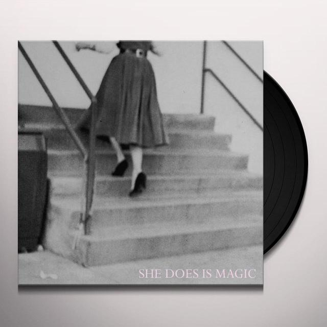 She Does Is Magic MY HEIGHT IN HEELS Vinyl Record