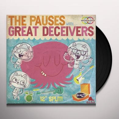 Pauses / Great Deceivers 12 INCH SPLIT Vinyl Record