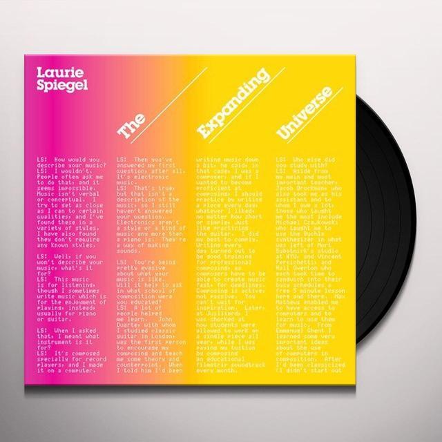 Laurie Spiegel EXPANDING UNIVERSE Vinyl Record
