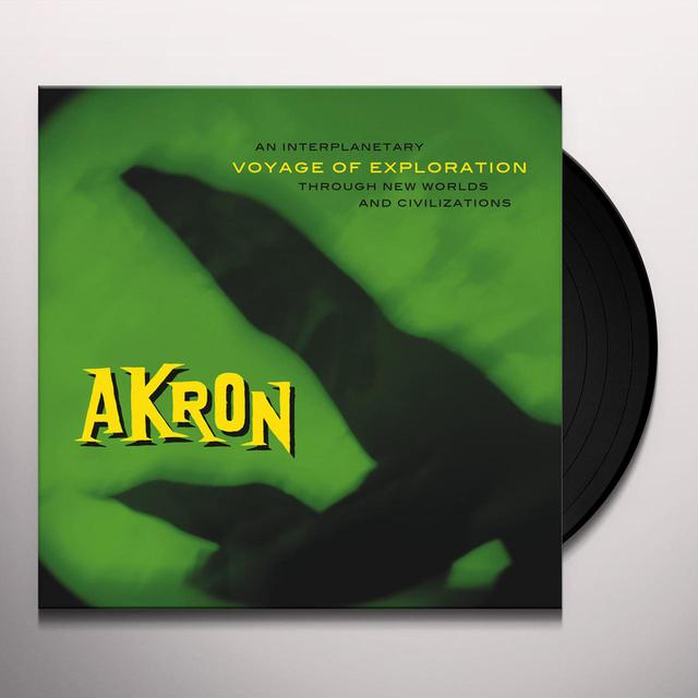 Akron VOYAGE OF EXPLORATION Vinyl Record